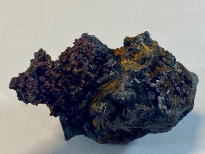 Copper with Cuprite